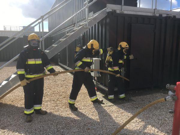 Ecodeal intervenção escola nacional de bombeiros
