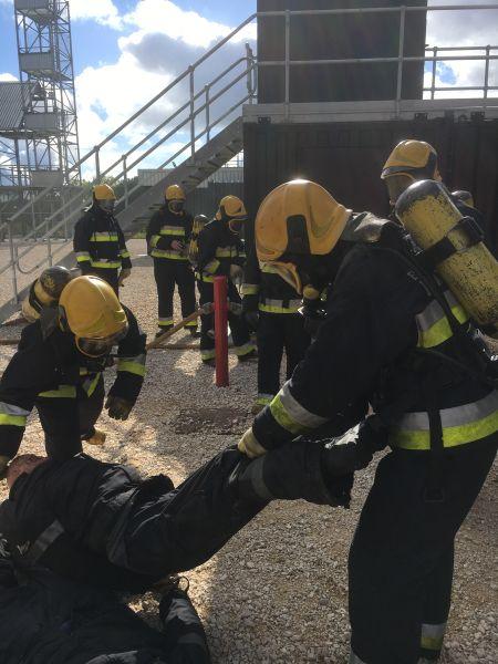 Ecodeal intervenção escola nacional de bombeiros 2